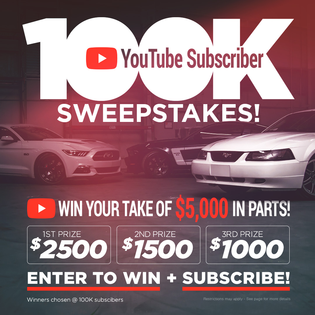 YouTube Subscriber $5000 Sweepstakes!