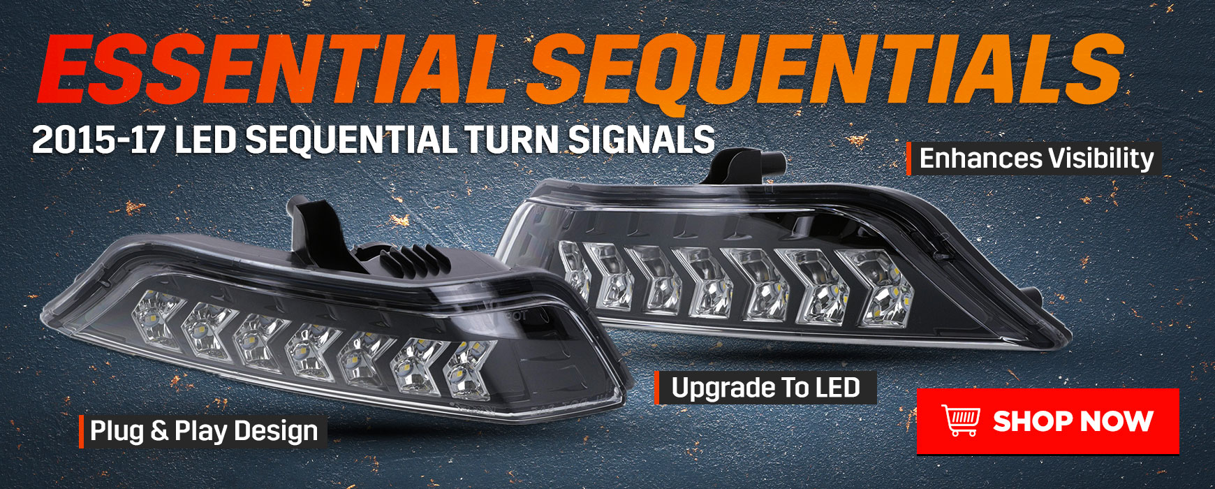 Ford Mustang LED Sequential Turn Signals