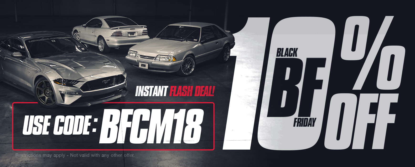 10% OFF LMR Discount Code: BFCM18