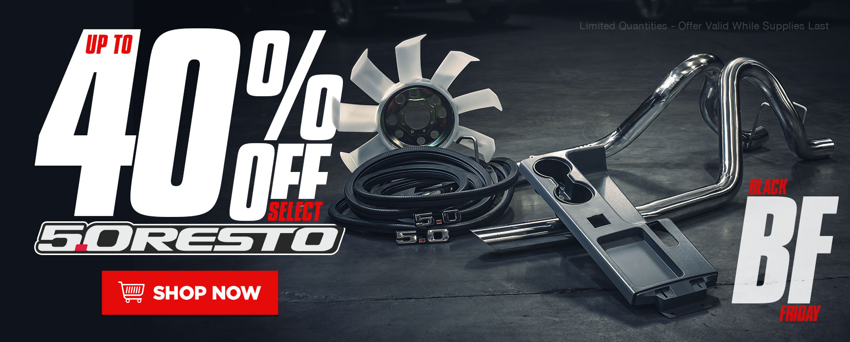 Up to 40% OFF 5.0 Resto Mustang Parts