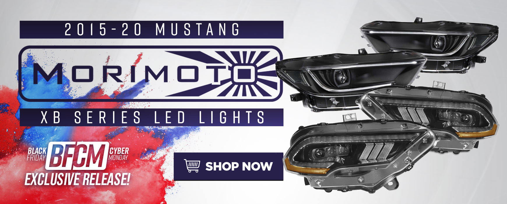 LMR Mustang BFCM Morimoto LED Lighting Solutions