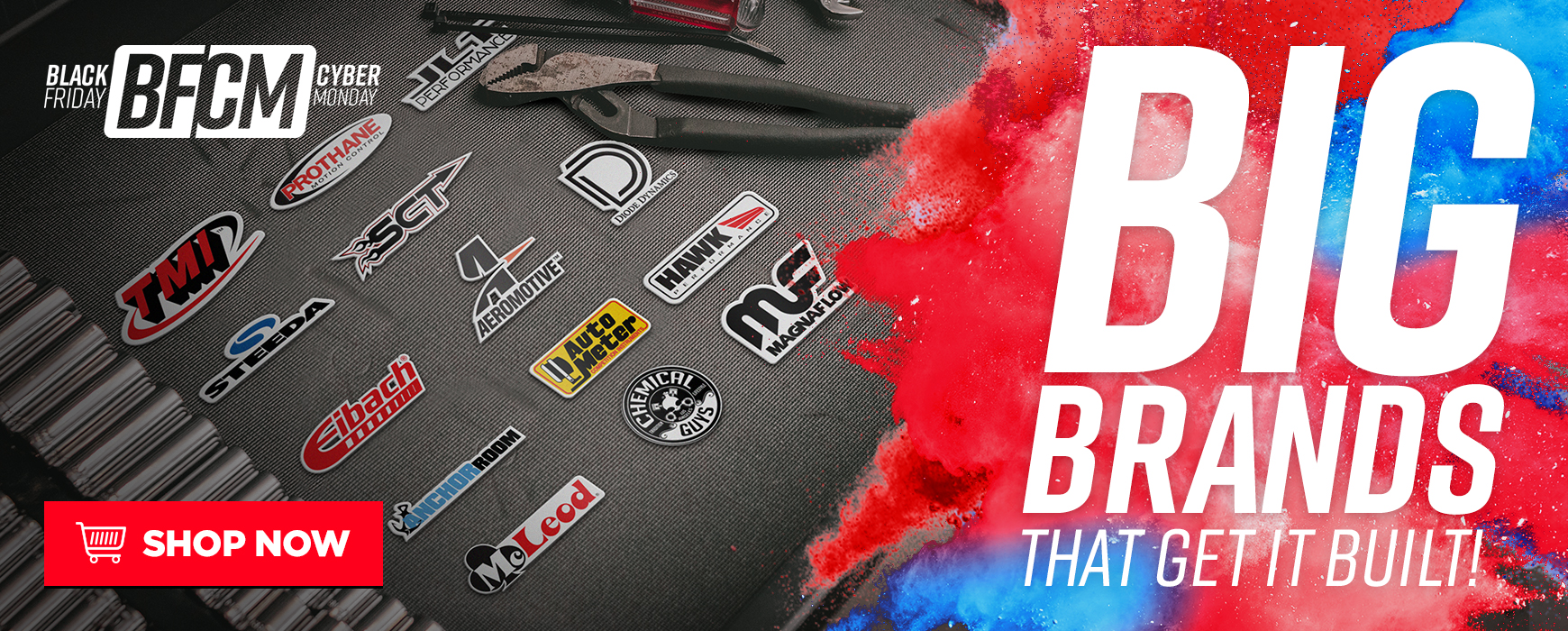 LMR Mustang BFCM Featured Brands