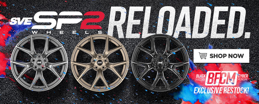 LMR Mustang BFCM SVE SP2 Wheels RESTOCKED