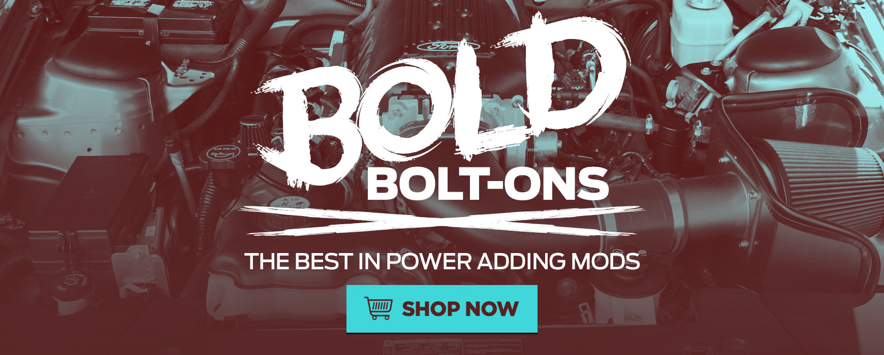 BOLD Bolt-ons for your Mustang!