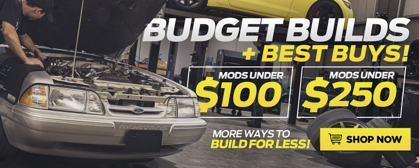 Ford Mustang Budget Parts