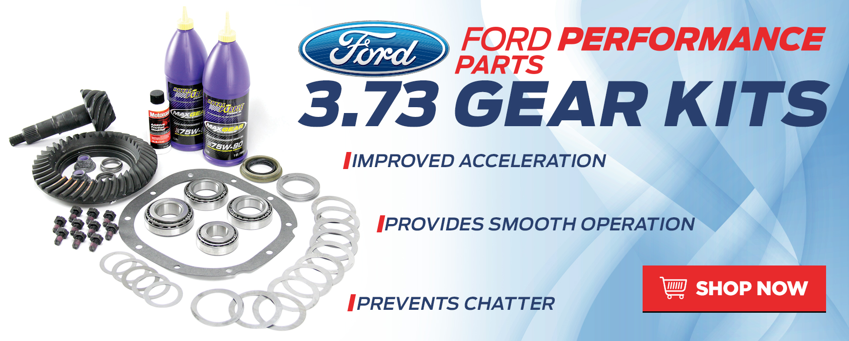 Ford Performance Gear Kits