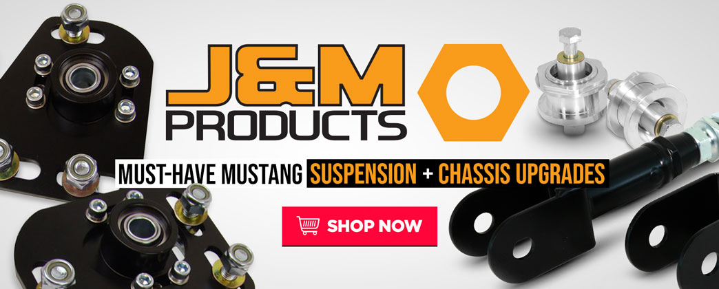 Must-Have Mustang Suspension & Chassis Upgrades from J&M!