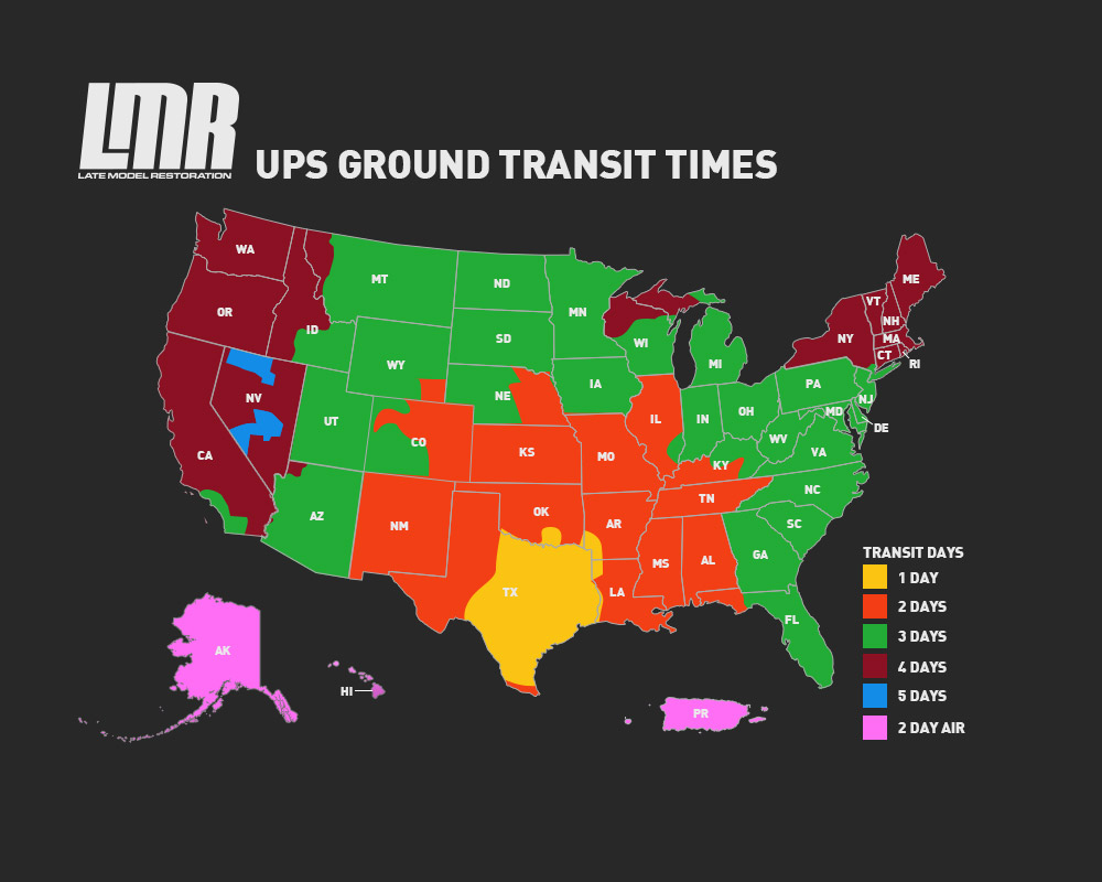 Does Ups Ship On Saturday >> Shipping Terms - LMR.com - LMR.com