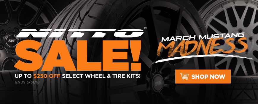 Mustang Nitto Tire Sale