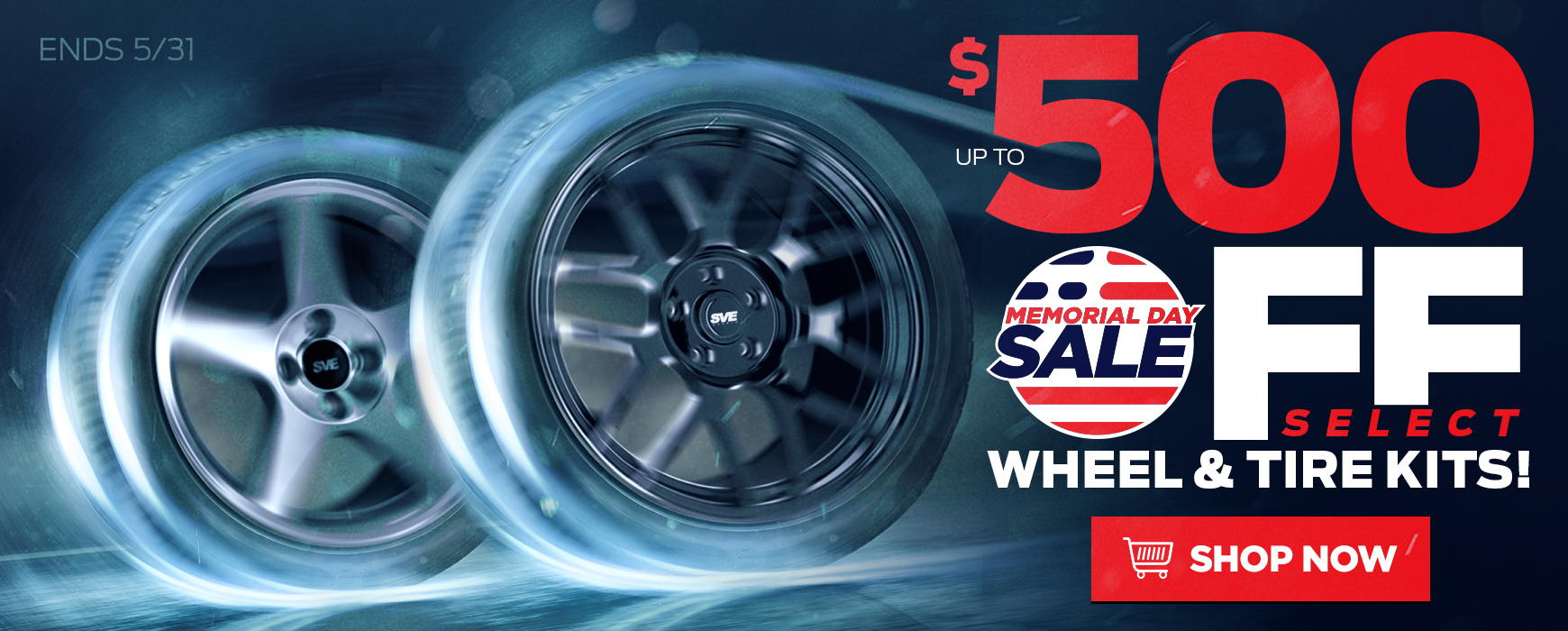 LMR Deals On Wheels Memorial Day Sale