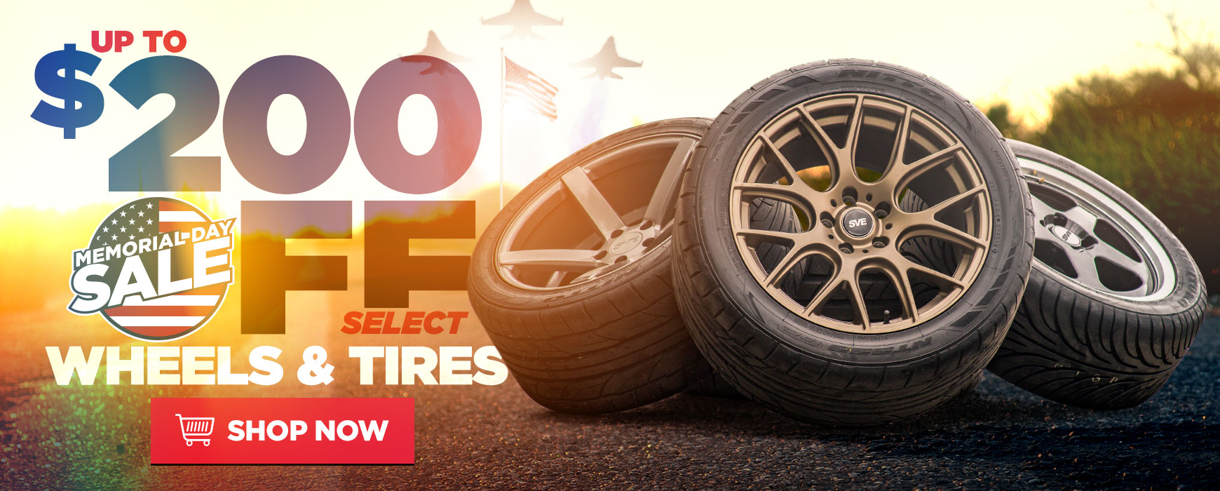 Mustang Wheels & Tires On Sale