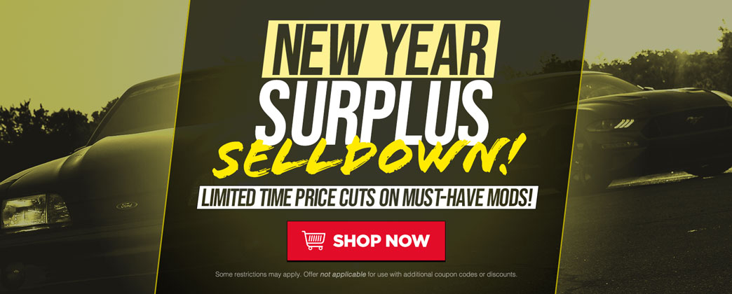 New Year Surplus Selldown!