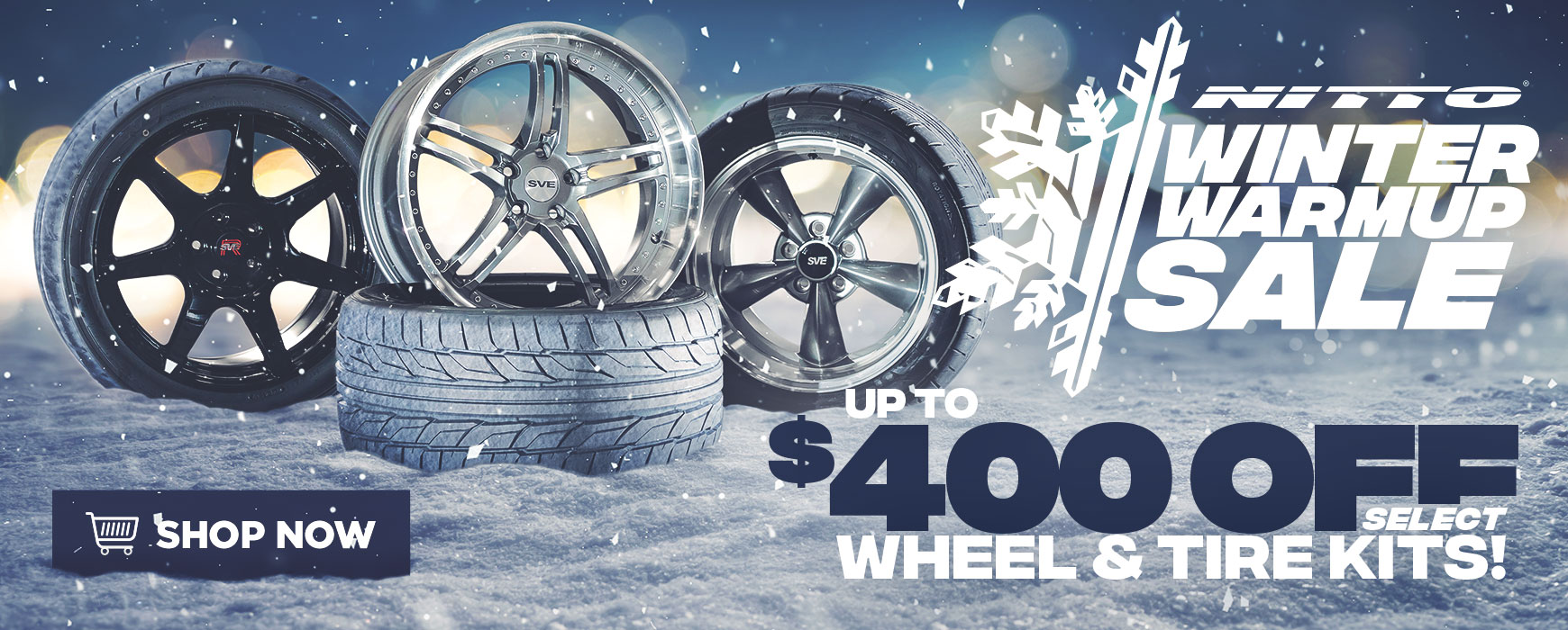 Nitto Winter Warmup Sale!