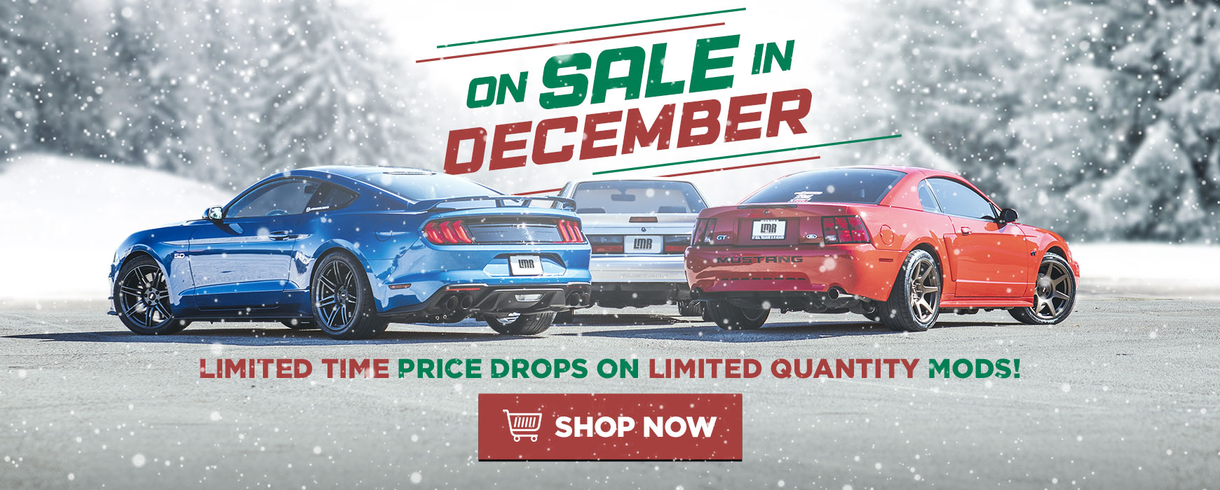LMR Mustang Parts On Sale