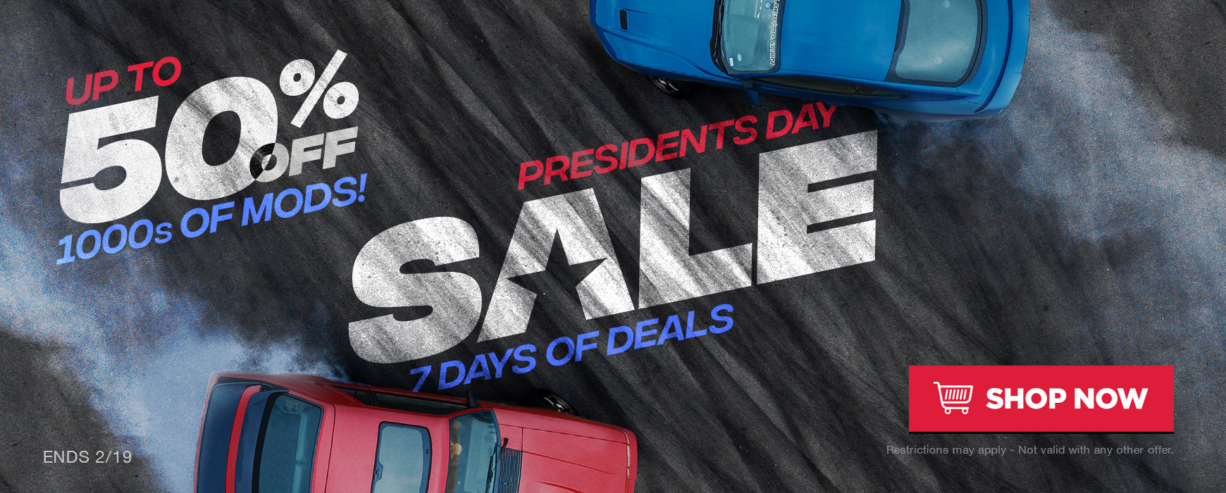 LMR Presidents Day Sale