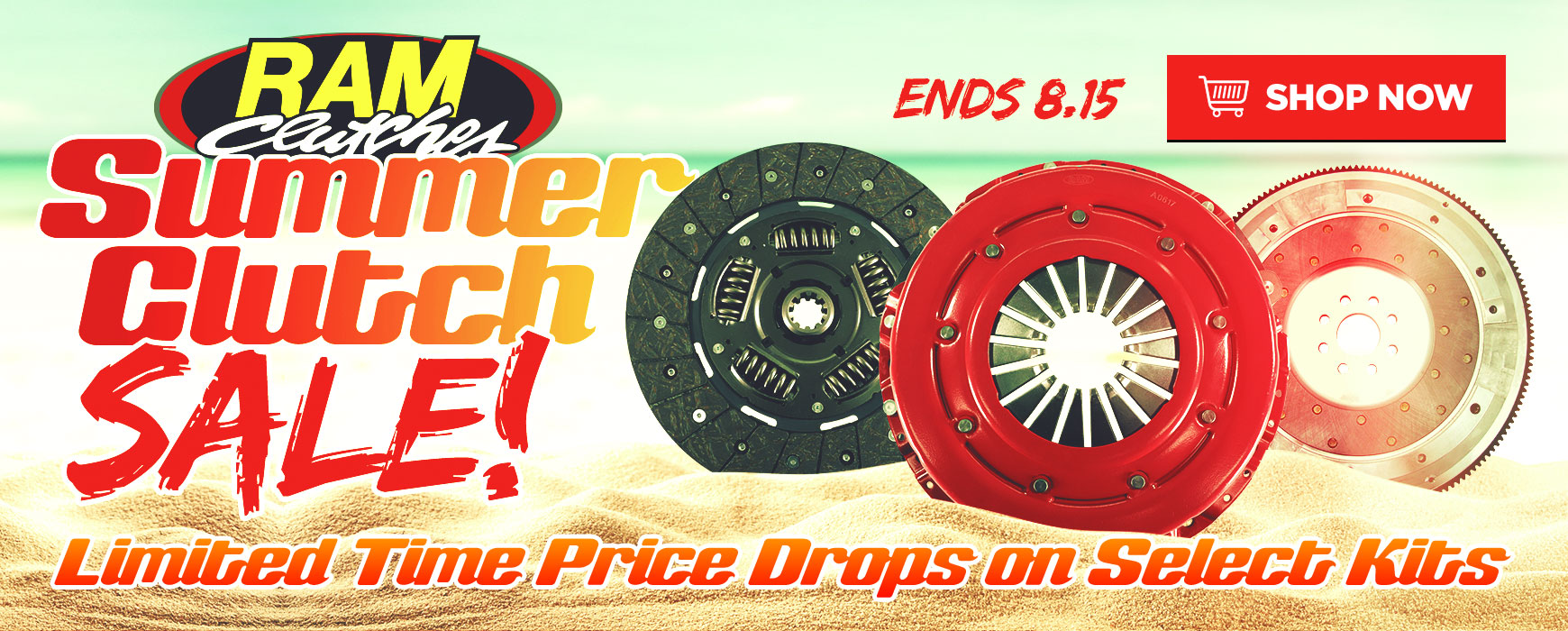 Ram Summer Clutch Sale