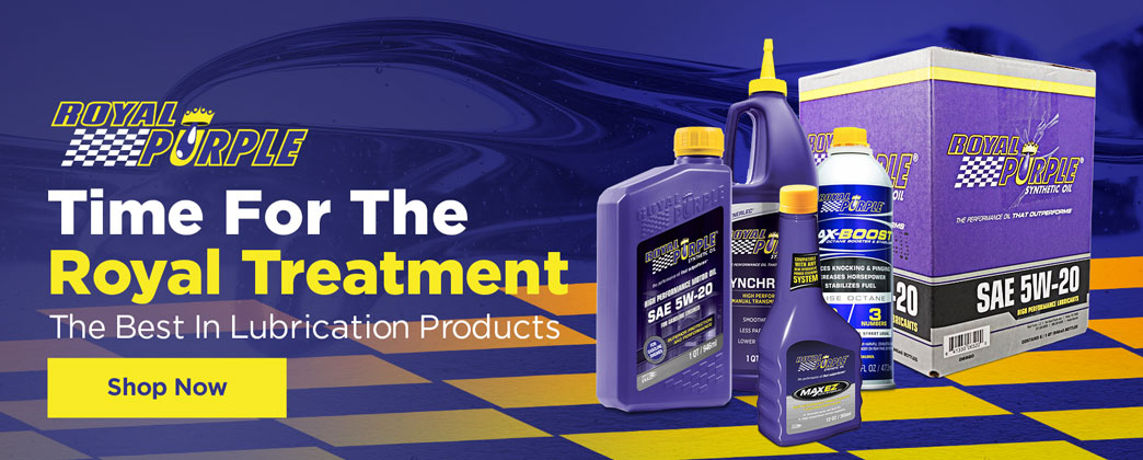 Ford Mustang Royal Purple Lubrication Products