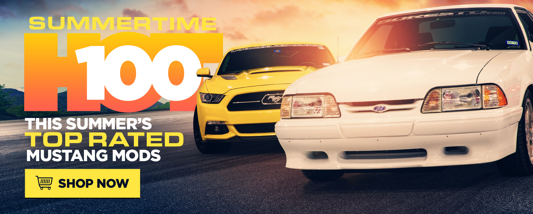 Ford Mustang Top 100 Parts