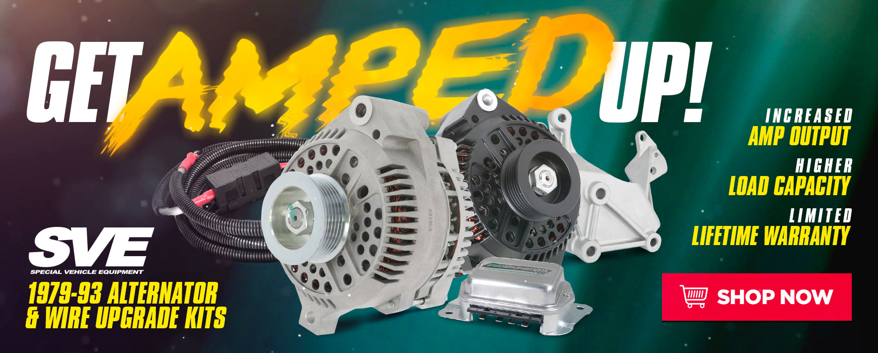 Ford Mustang SVE Fox Alternator Upgrade Kits