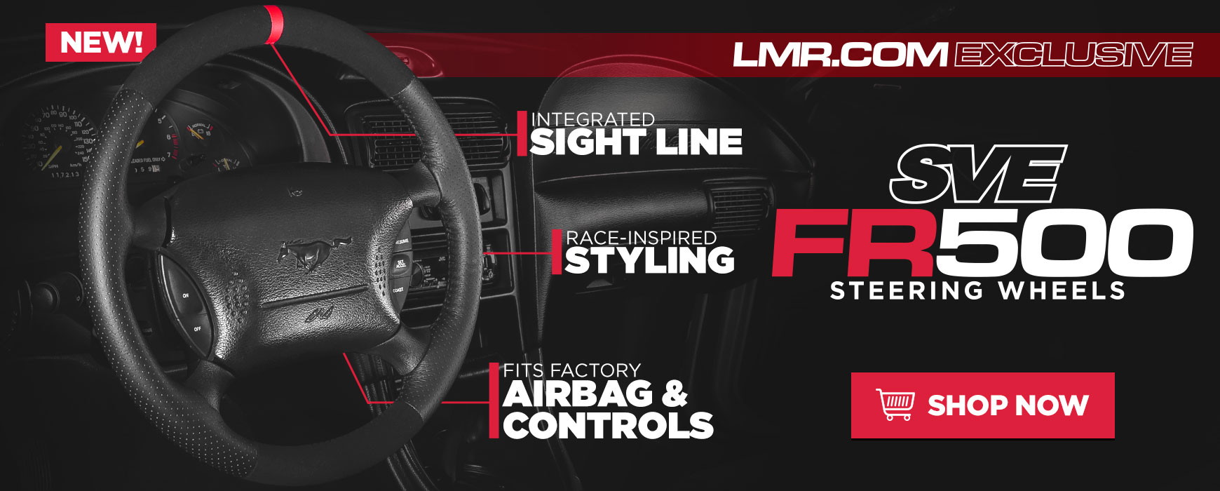 SVE FR500 Steering Wheel