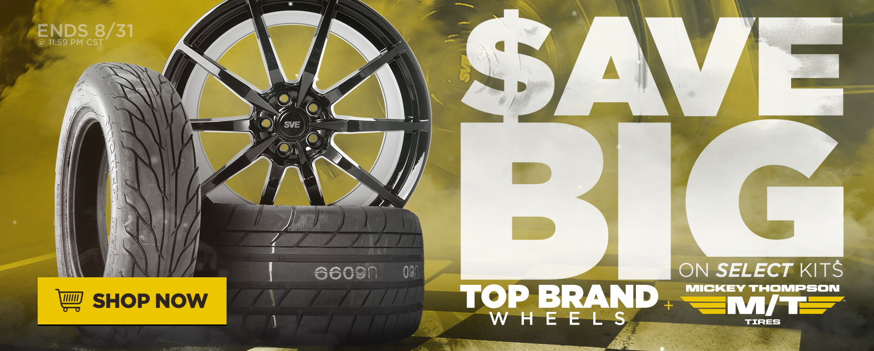SVE & Mickey Thompson Sale