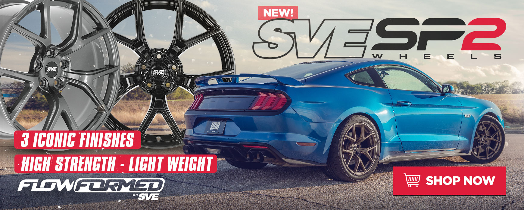 Sve sp2 mustang wheels