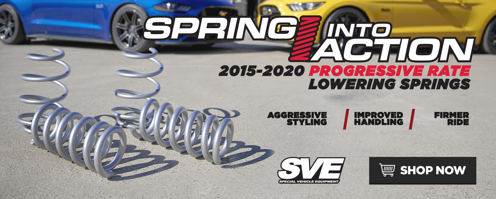 SVE Progressive Rate Lowering Springs