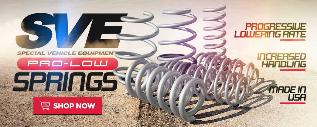 Ford Mustang SVE Lowering Springs