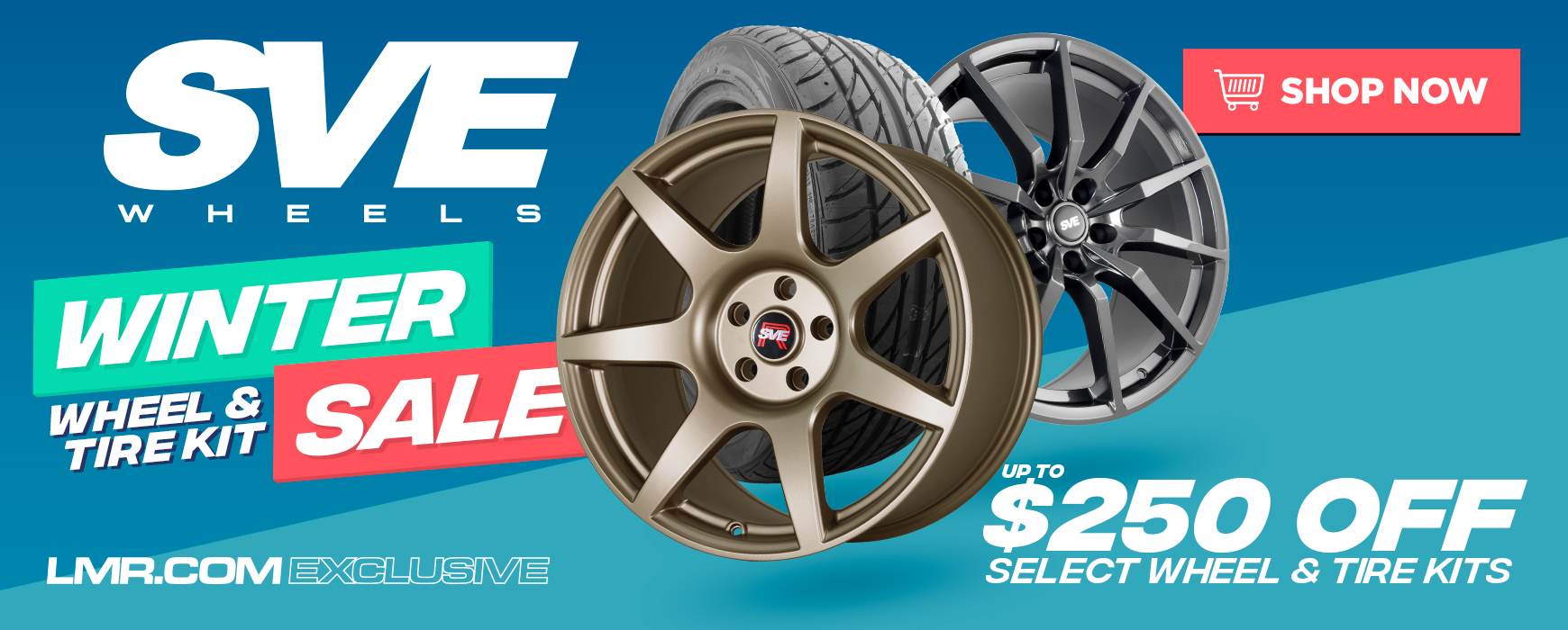 SVE Wheel & Tire Kit Sale
