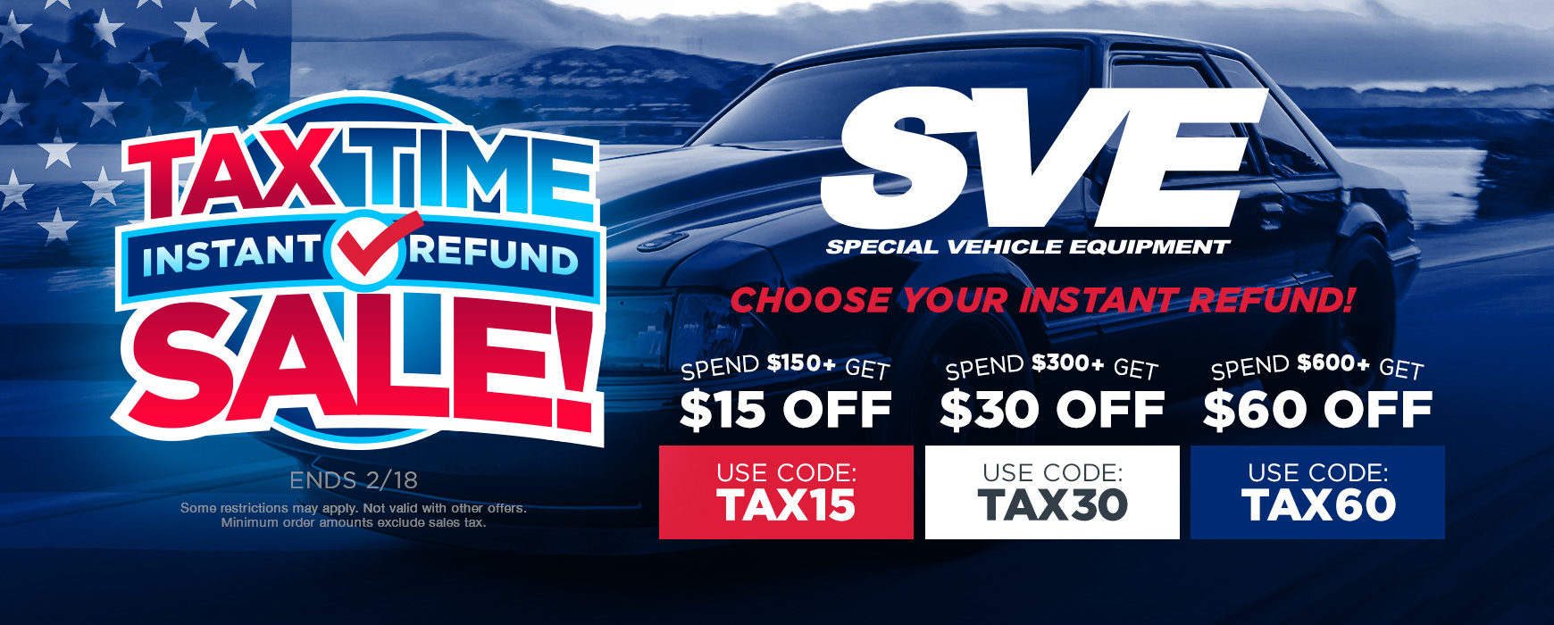 Tax Time Instant Refund Deals on SVE