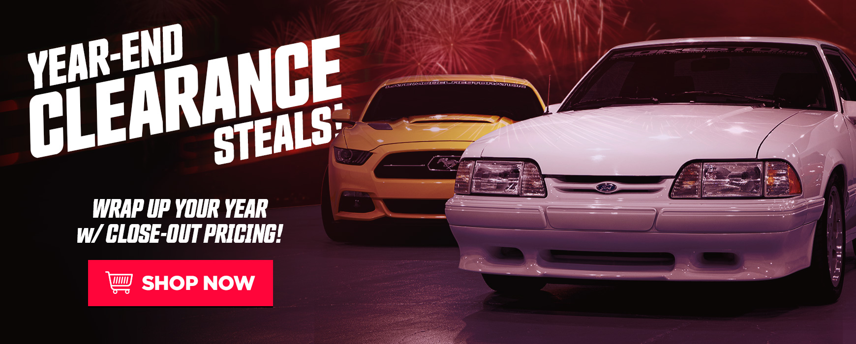 LMR Mustang Clearance Parts